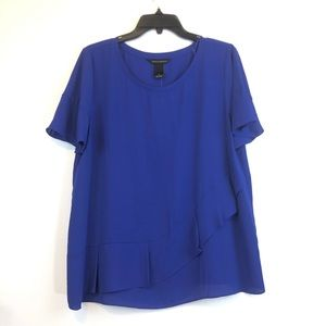 NWT Investments Flare Sleeves Blouse